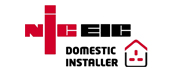 National Inspection Council for Electrical Installation Contracting Approved Domestic Installer Logo
